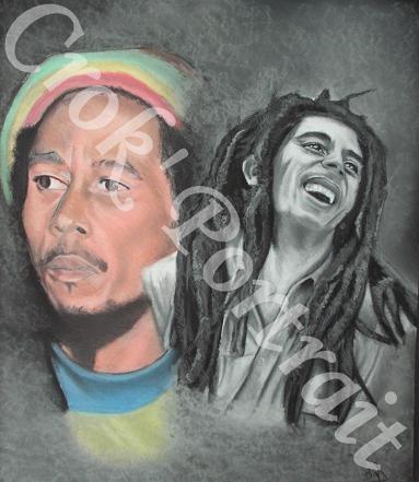 Bob Marley by crokportrait